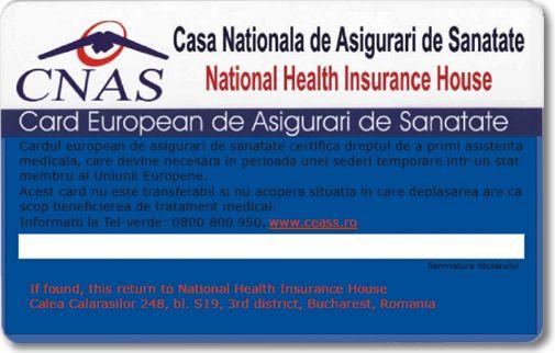 Călătoriile în UE cu card de sănătate european