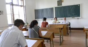 Elevii de clasa a XII –a încep probele scrise din cadrul Bacalaureatului