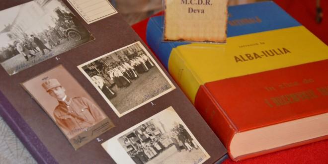 """Albumul """"Amintirile mele din răsboiul mondial 1914-1919"""" poate fi admirat la muzeul devean"""