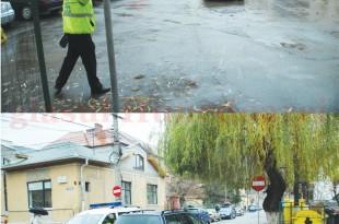 """Primăria Deva a instituit """"sens unic"""" pe strada Șaguna"""