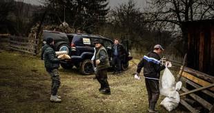 Off Road Adventure Romania a donat opt tone de ajutoare copiilor și bătrânilor izolați din Munții Șureanu