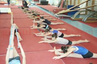 Gimnastele din lotul de junioare al României au revenit la Deva