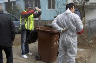 Nou-născut găsit mort la ghena de gunoi