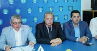 Florin Roman, Lucian Heiuș și Bogdan Țîmpău, prezentul, viitorul și trecutul PNL Hunedoara