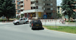 Intrarea de pe un sens al b-dului Iuliu Maniu pe strada Andrei Şaguna este, din nou, posibilă şi legală