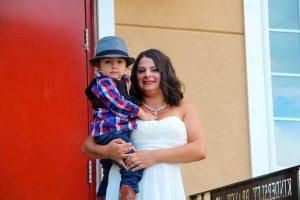 Roxana Lăcătuş şi-a botezat fiul Sebastian, pentru că ştia că acesta e un nume folosit şi în România