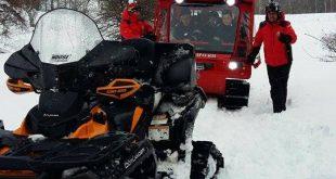 La Vadu Dobri s-a putut ajunge vineri doar cu autoşenilatele ISU