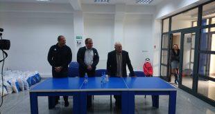 Francisc Kovacs (în dreapta imaginii), împreună cu Marius Muzicaş (primul din stânga) şi Marius Surgent la un eveniment organizat de ALDE, pentru pensionari, pe 1 octombrie 2016.