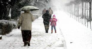 o noua avertizare de ninsoare