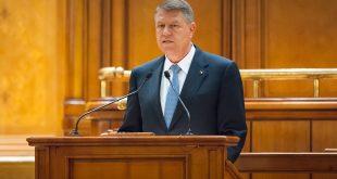 Explicație: Președintele Klaus Iohannis ținut, ieri, un discurs în Parlament, în cadrul căruia a lansat un atac extrem de dur la adresa PSD  Sursa: paginidepolitica.ro