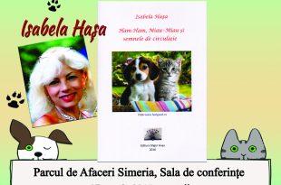 Afis Lansare de carte Isabela Hasa-2017