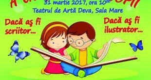 Afis Ziua Internationala a Cartii pentru Copii 2017