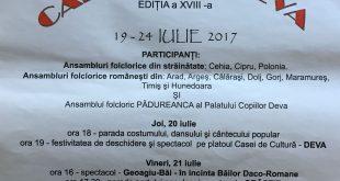 Afis Festivalul Carpatica
