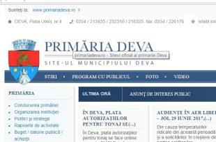 Site Primaria Deva