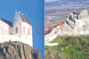 Cetatea din Fűzer este poziționată la fel ca și Cetatea Devei. Monumentul istoric din Ungaria este însă perfect funcțional