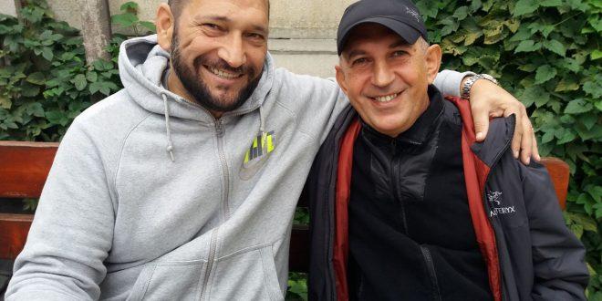 Traian Berbeceanu, alături de dr. Marius Blendea Sursa foto: Facebook/Gabi Berbeceanu