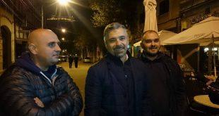 Radu Barb, însoțit de doi dintre exclușii din PSD: Cristian Gros și Răzvan Șoldan