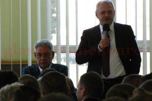Liviu Dragnea şi Mihai Tudose au fost ieri la Mintia. Angajaţii termocentralei nu-şi amintesc să mai fi avut vreodată o serie atât de lungă şi densă de miniştri veniţi în vizită.