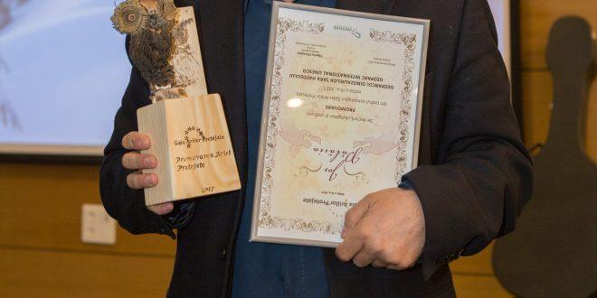 Foto: Directorul Geoparcului Dinozaurilor, Alexandru Andrășanu (Sursa foto – ProPark)