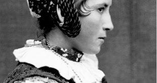 Fată din Răchitova - imagine din 1922. Foto: Romulus Vuia