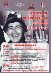 Afis Festival Liviu Oros