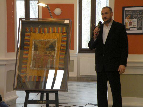 Drapelul lui Avram Iancu, cumpărat la licitaţie,cu 105 000