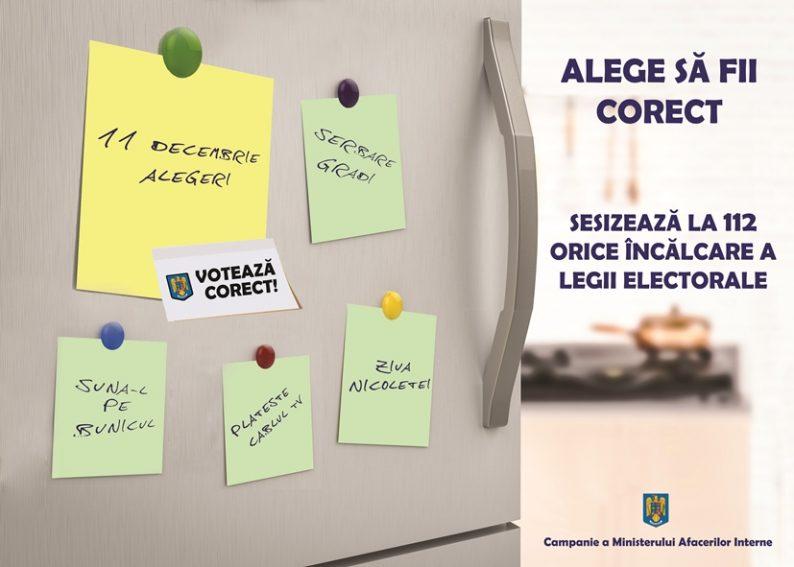 Photo of Alege să fii corect! Campanie MAI, pentru alegerile parlamentare