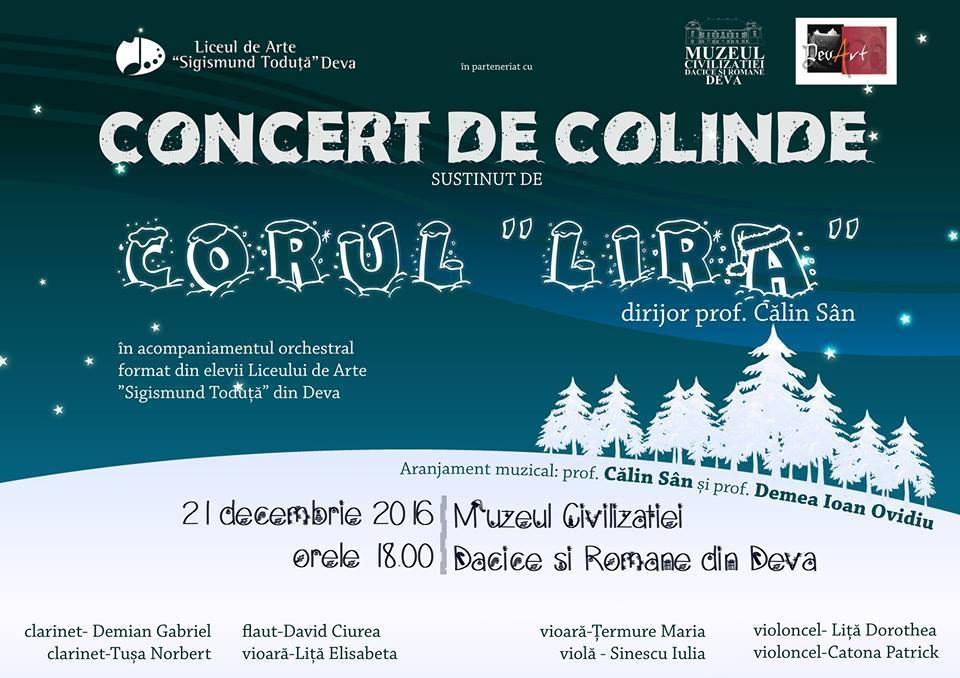 "Photo of Concert de colinde, la Palatul ""Magna Curia"""