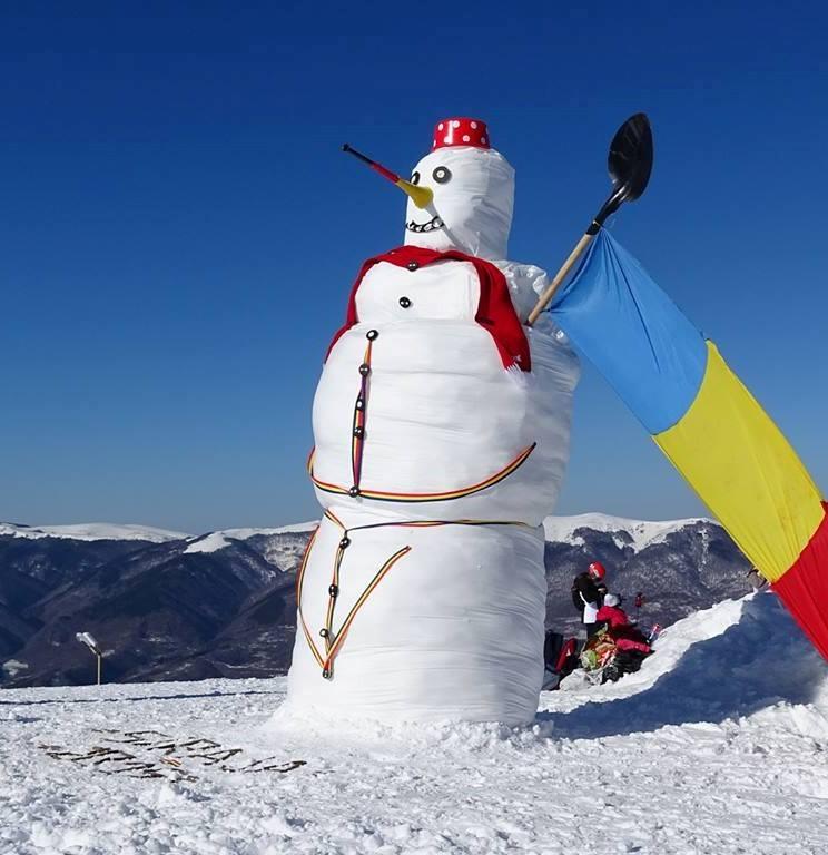 Photo of Festivalul oamenilor de zăpadă la Straja