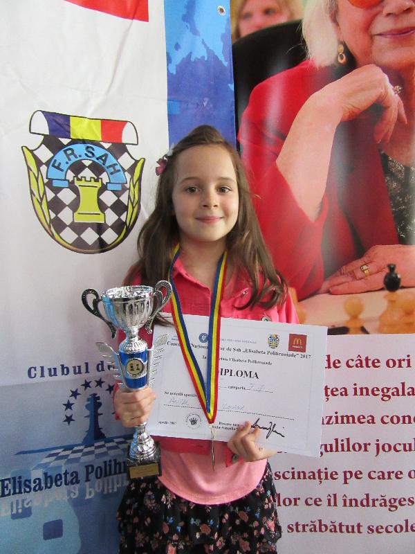 Photo of Iris Antal a câştigat titlul la Campionatul Naţional Şcolar de Șah