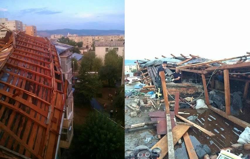 Photo of Deva, oraşul acoperişurilor de chibrituri căzute-n apă