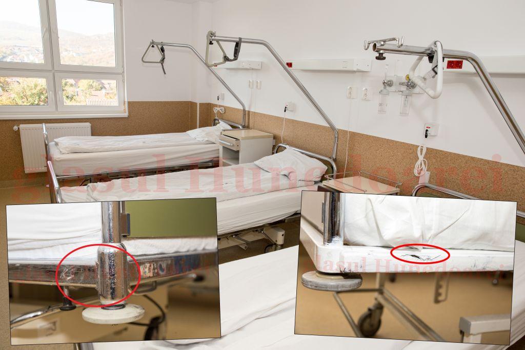 """Mobilierul """"nou"""" de la Urologie este, de fapt, vechi și recondiționat"""