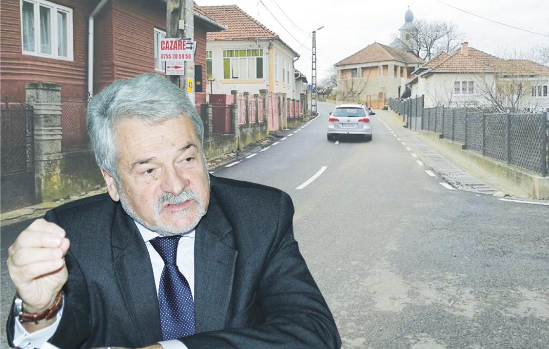 Moloţ spune că până şi proiectul drumului spre Prislop a fost gândit de pe vremea în care el conducea Consiliul Judeţean