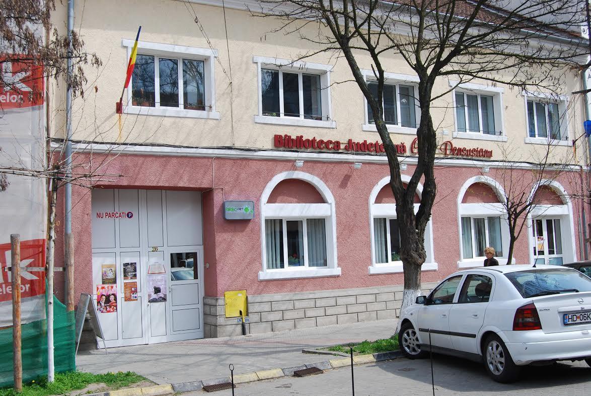 """Photo of Biblioteca Județeană """"Ovid Densusianu"""" Hunedoara-Deva a decis suspendarea activității cu publicul pe o perioada nedeterminată!"""