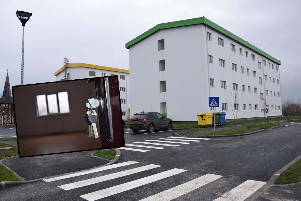 Cele două blocuri nou construite, din cartierul Grigorescu, sunt gata, dar încă nelocuite