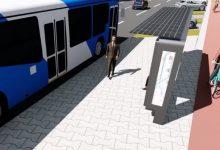 Imagine din simularea grafică a proiectului prezentată pe facebook de Primăria Hunedoara