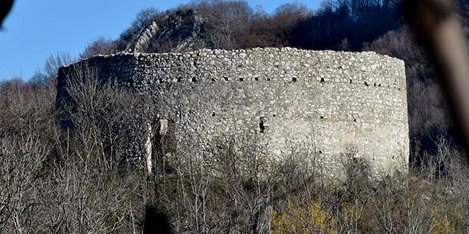 """Descrierea conform Listei Monumentelor Istorice, Institutul Național al Patrimoniului, 2015: """"cod HD-II-m-A-03304, Turn de cetate (ruine), sat CRIVADIA; comuna BĂNIŢA, pe partea stângă a D.N. 66, spre Petroşani, la cca. 100 m E de sat, 1528"""""""