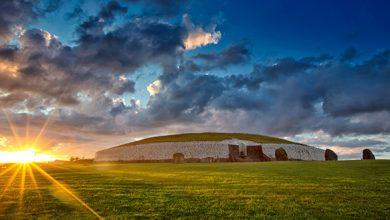 Cel mai important monument al complexului Newgrange din Irlanda – sursa foto cnn.com