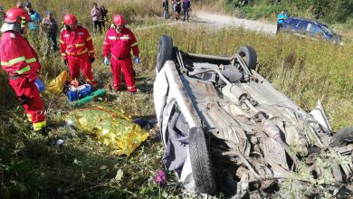 Photo of Imagini de la accidentul din Petroșani. O femeie a murit și doi bărbați au grav răniți