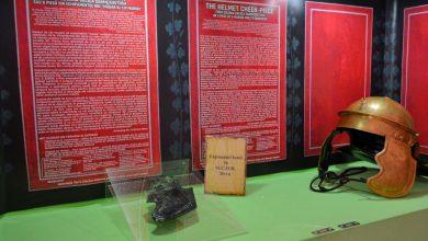 Photo of Un obrăzar de coif din perioada romană, exponatul lunii la Muzeul Civilizaţiei Dacice şi Romane