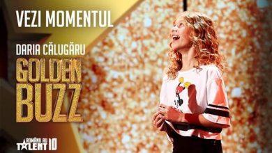 Photo of Deveanca Daria Călugăru a obținut un Golden Buzz, vineri seara, în cadrul emisiunii Românii au talent, cu un dans de excepție…pe hoverboard. Vezi momentul