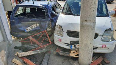 Photo of Accident în cartierul Viile Noi Deva. Șoferul a fugit dar a fost prins după câteva sute de metri(galerie foto)