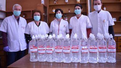 Photo of Soluție alcoolică dezinfectantă pentru mâini pentru spitalele și personalul militar din județul Hunedoara produse la Spitalul Militar de Urgență din Sibi