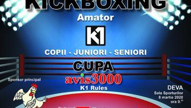 Photo of Cupa Avis3000 la Kickboxing amatori, Deva, Sala Sporturilor – 8 martie