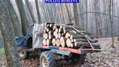 Photo of Trei bărbaţi au fost reţinuţi în urma unei acţiuni a poliţiştilor din cadrul Biroului Combaterea Delictelor Silvice pe linia verificării  modului de gestionare, comercializare și transport al materialului lemnos.