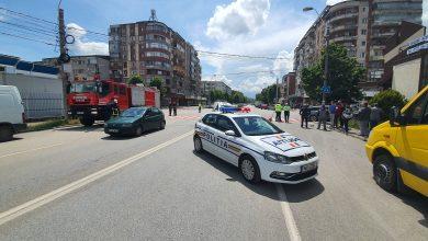 Photo of Accident la intrarea în Hunedoara.