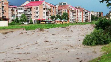 Photo of (Galerie foto, video)Ploile au făcut ravagii în ultimele 24 ore. DN66A (Petroșani – Câmpu lui Neag) – drum închis după ce un pod s-a prăbușit