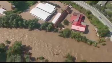 Photo of (Video elicopter)Inundații puternice în vestul Văii Jiului