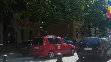 """Photo of Pietonala din Deva a devenit """"Pietonala auto a elevilor decebaliști"""""""