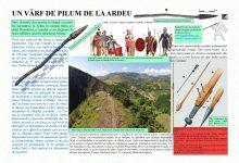 Photo of Muzeul Civilizației Dacice și Romane din Deva propune online, un alt artefact aflat în patrimoniul său: UN VÂRF DE PILUM DE LA ARDEU